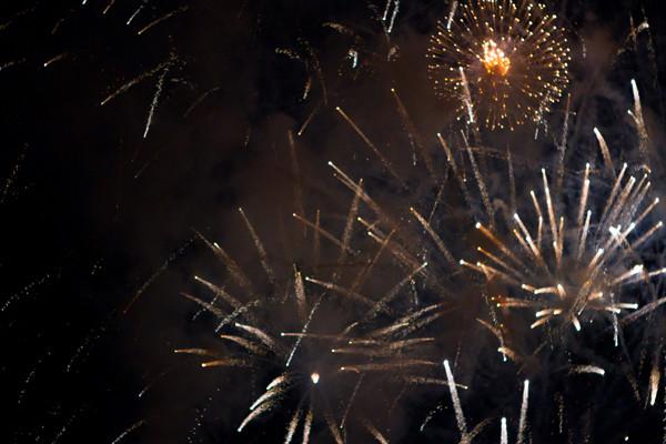 fireworks everywhere