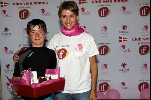 con el campeón Carlos Manera