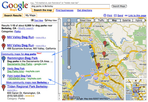 maps community google