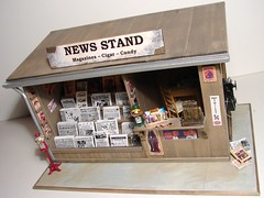 News Stand 1:12 Scale Miniature