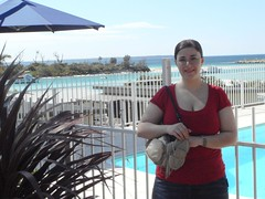 The Pool and I (MissMission) Tags: ocean girls friends sea holiday hot cold beach breakfast bay boat australia nsw heads whales southcoast jervis whalewatching thepretenda jervisbay missmission husskison