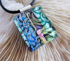 Elegant Patchwork Dichroic Fused Glass Pendant (Uneek Glass Fusions) Tags: beads colorful handmade jewelry handcrafted wearableart etsy multicolored kiln fusing artglass glassbeads glassart glassartist dichroic sterlingsilver glasspendant glassjewelry dichroicglass warmglass beadedjewelry contemporaryglass originalartglass customjewelry jewelrydesigner glasspendants focalbeads fusedglassjewelry fusedglasspendant jewelrydesigns glassartists fusedglassnecklace cgge dichroicglassjewelry dichroicglasspendant uneekglassfusions joanjewels dichroicglasspendants dichroicglassnecklace fusedglasspendants dichroicglassnecklaces fusedglassnecklaces customartglass dichroicpatterns handforgedsterlingsilver tubebail sanfranciscoglassartists californiaglassartists bayareaglassartists