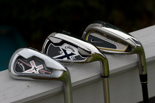 Callaway X-Tour, X-20 and Nike Sumo Irons