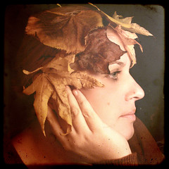 Let the wind blows my leaves to the old Anna Liffey (Mlle Mathilde) Tags: autumn ireland portrait fall me leaves self vanmorrison breathtaking jamesjoyce mathilde preraphaelite puk chieftains annaliffey mywinners abigfave daugerrotype aplusphoto theunforgettablepictures