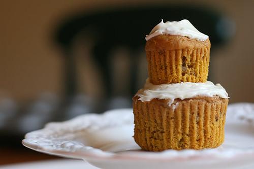 Pumpkin Pecan Cupcake Stack