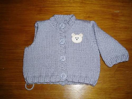 Classic cardigan (newborn size)