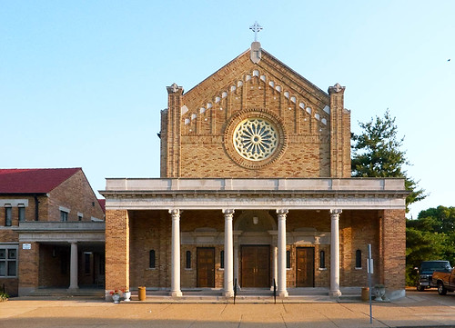Epiphany of Our Lord Church, in Saint Louis, Missouri - facade 2.jpg