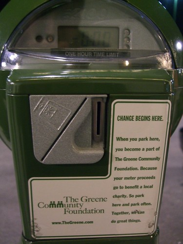 Parking Meter for Charity