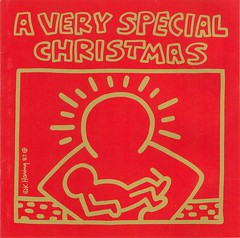 A Very Special Christmas - 1989 benefit album for the Special Olympics (front cover)