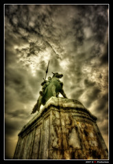 Statue of King Naresuan the Great @ Ayutthaya (Thailand) (Eric Rousset) Tags: voyage travel sky horse cloud nature statue photoshop thailand cheval photography reflex bravo asia king raw searchthebest cs2 sony sigma wideangle thaïlande ciel adobe asie bec nuage hdr highdynamicrange orton photomanipulated 2007 roi ayutthaya bpp blueribbonwinner photomatix sigma1020 supershot magicdonkey tonemapping golddragon alpha100 mywinners abigfave sonydslra100 platinumphoto anawesomeshot colorphotoaward impressedbeauty aplusphoto flickrplatinum hdrenfrancais infinestyle diamondclassphotographer flickrdiamond megashot bratanesque superlativas theunforgettablepictures brillianteyejewel platinumheartaward kingnaresuanthegreat proudshopper theperfectphotographer theroadtoheaven thegoldendreams goldstaraward piproduction ericrousset ericroussetphotography