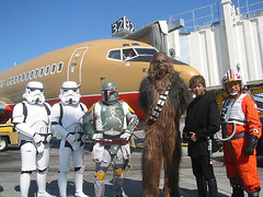 Chewbacca in the NASA