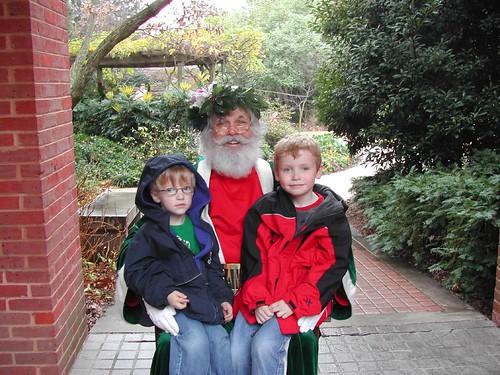 Garden-Variety Santa