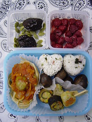 Heart bento (Shanti, shanti) Tags: japan bento explored
