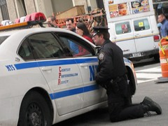 The Proper Way To Ask for a Day Off (buff_wannabe) Tags: nyc funny humorous police nypd cop policecar unusual