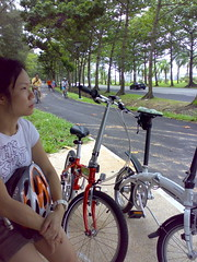 First ride of 2008: Coastal Park Connector