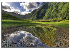 End of Drought (DanielKHC) Tags: mountains water reunion reflections landscape puddle island pond bravo searchthebest mud patterns sony drought alpha soe hdr a100 saintbenoit themoulinrouge naturesfinest grandetang blueribbonwinner photomatix eow supershot magicdonkey tonemapped 5exp tamron1118mm mywinners abigfave platinumphoto anawesomeshot danielcheong hdrenfrancais irresistiblebeauty diamondclassphotographer bratanesque flickrelite danielkhc plainedespalmistes theperfectphotographer