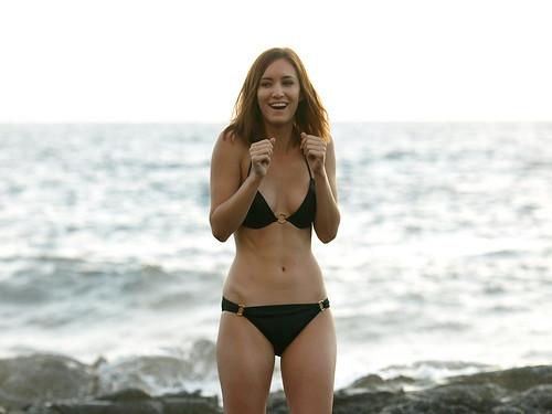 Bikini girl photo