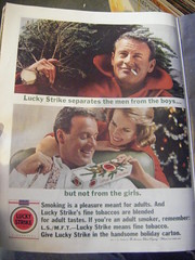 Lucky Strikes For Christmas