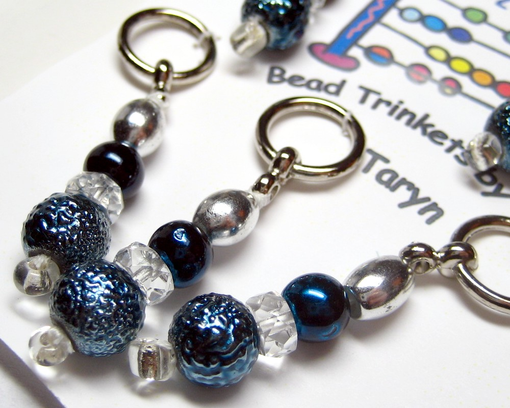 Stitch marker Winter Swap - Received from Taryn