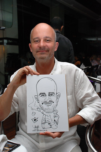 Caricature birthday party 190108 3