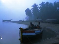 ks27 (kbapu) Tags: sunset india boats sankranti sunraise godavari konaseema eastgodavari amalapuram aptourism kaladharbapu andhravillages