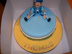Another Sportacus/Lazy Town/Superhero Cake (Casa Costello) Tags: birthday cake super novelty hero superhero lazytown sportacus