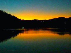 4939A Winter Sunset Pomarao (Sueshane) Tags: winter sunset sky orange portugal nature water rio clouds reflections river evening hills sjc alentejo rioguadiana pomarao
