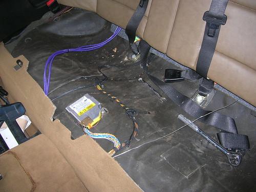 Thread E36 Rear Speaker Wiring