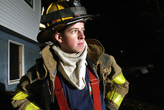 Montgomery FD trainee. January 22, 2008.