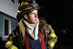 Montgomery FD trainee. January 22, 2008.