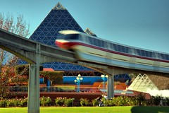Disney - Monorail Red Imagination (Express Monorail) Tags: orlando epcot florida disney disneyworld imagination monorail wdw waltdisneyworld walt futureworld monorailred imaginationpavilion disneyphotochallenge