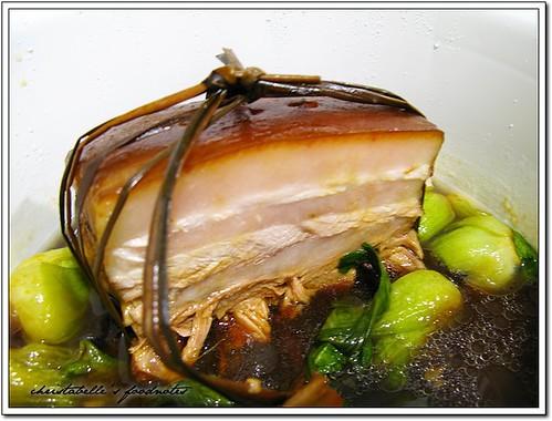 福華08年菜 紹興東坡肉0