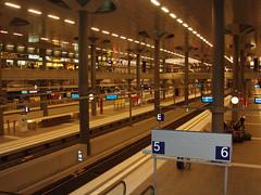 DB Hauptbahnhof sub platform 2 (never the prom queen!) Tags: berlin hauptbahnhof