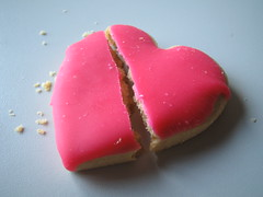 Broken Heart Cookie 1