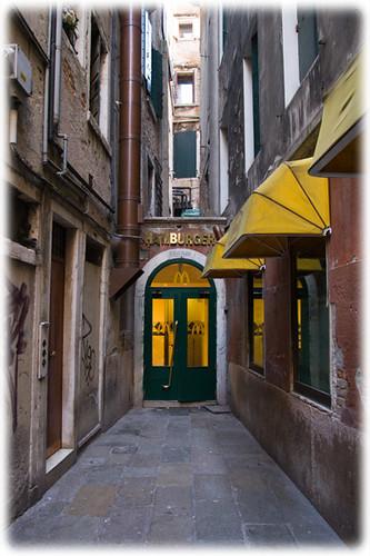 McDonalds in Venice (Italy)