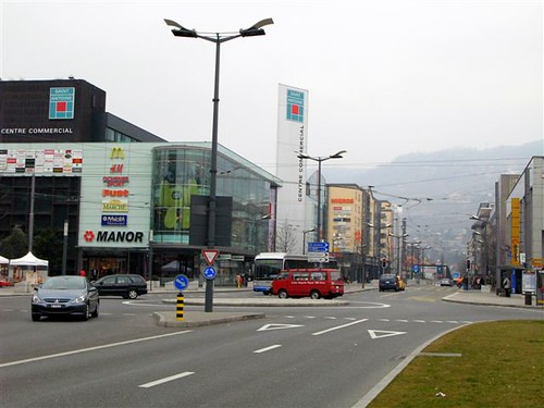 commercial center in Vevey