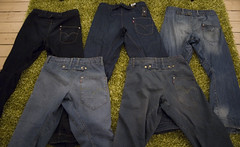 Jeans collection.. (Andreas Fabbe) Tags: collection jeans levis