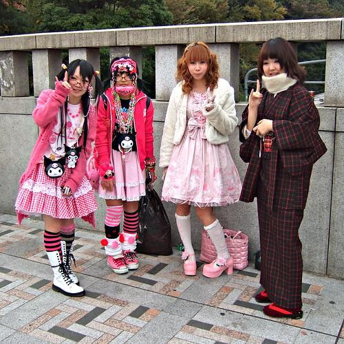 Japanese Fashion - Three Styles by Adrian.N.