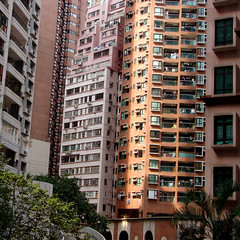 Midlevels (Mr. Cavin) Tags: above travel november windows hk tower skyscraper square concrete island hongkong asia apartment chinese laundry highrise format cantonese midlevels kowloon airconditioners mainland cavin