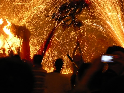 Dragon Lantern Dance - Sister's Meal Festival - Taijiang, Guizhou