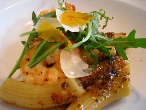 Rigatoni Pasta with Crustacean Oil