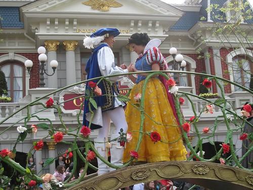 Biancaneve a Disneyland