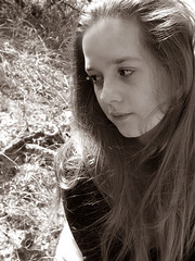 Reverie (restless-shadow) Tags: portrait girl sepia portret dziewczyna