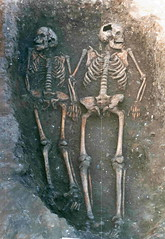 St. Botolph's, Haverhill, Suffolk - Spring 1997 (dstirk) Tags: uk family history love archaeology cemetery grave work skeleton death interesting body documentary medieval photograph bones burial fieldwork archeology mortality humanremains archologie archeologia exhumation archaeologyblog