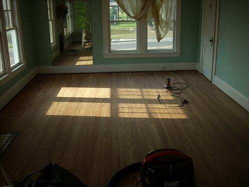 Floor Sanded