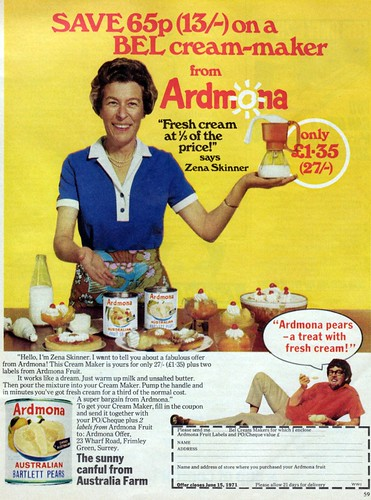 IMG 1971 Ardmona cream ad UK