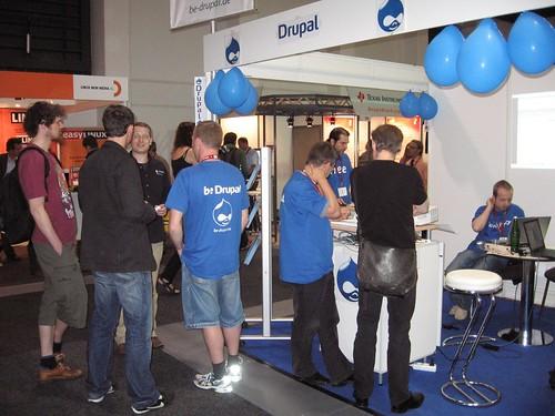 Drupal Stand Linuxtag 2008