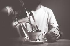 Coffee explosion (DannyBradley) Tags: explored explore coffee mono nikon strobist splash lowkey