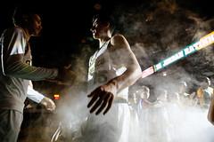 USF Basketball vs BYU 93 (donsathletics) Tags: usf mens basketball vs byu 93 university san francisco dons jordan ratinho