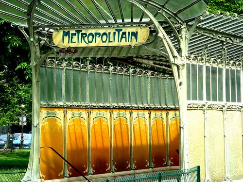 PARIS 2e: Metro 1900